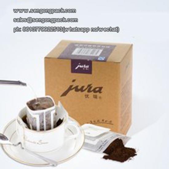 Drip Mixing Coffee Bag Packing Machine for with Outer Envelop