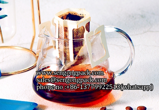 Drip Cafe Con Leche Bag Packing Machine for