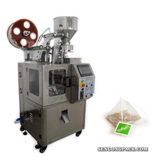 nylon pyramid  tea pouch packing machine price