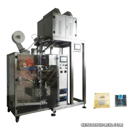 Flat Nylon/Non-woven fabric tea bags machine